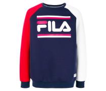tri-colour logo sweatshirt