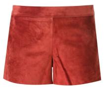 Shorts aus Wildleder