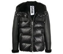 leather padded jacket