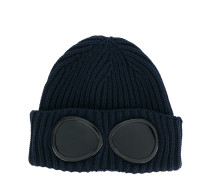 Beanie mit BrillenglasApplikation