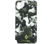 iPhone XS-Hülle mit Camouflage-Print