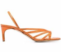 Strassverzierte Sandalen