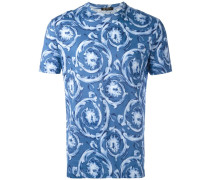 'Watercolour Baroque' T-Shirt - men - Baumwolle