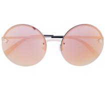 'Medusa' Sonnenbrille - women - Metall (andere)
