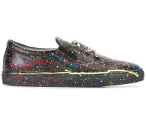 Sneakers mit Farbklecks-Print - men