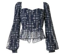 'Alice' Bustier-Bluse