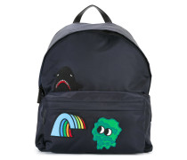character patch backpack