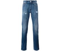 Jeans in Knitteroptik