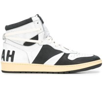 High-Top-Sneakers mit Slogan