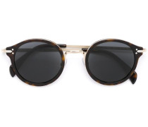 Runde Sonnenbrille - unisex - Acetat/Metall