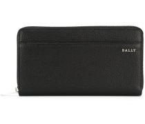 elongated zipped wallet