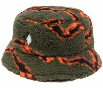 ALL OVER CAMOU PILE BUCKET ARMY ORANGE