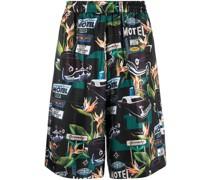 Gerade Shorts mit Auto-Print