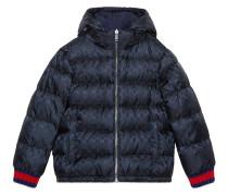 Children's reversible GG jacquard jacket