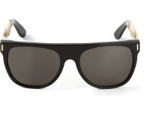 'Flat Top Francis Gold' Sonnenbrille