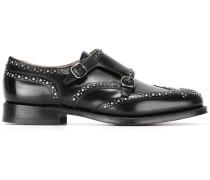 'Spazzolato' Monk-Schuhe mit Nieten