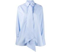 Oversized-Hemd mit Krawatte