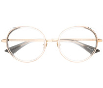 Leichte Brille mit rundem Gestell