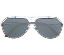 Pilotenbrille mit Doppelrahmen