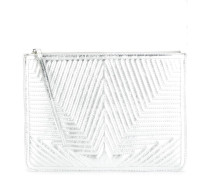quilted star clutch