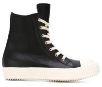 High-Top-Sneakers mit seitlichem Reißverschluss