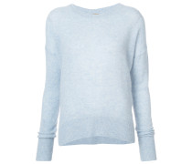 brushed pearl sweater