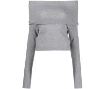 Pullover mit Wasserfallkragen