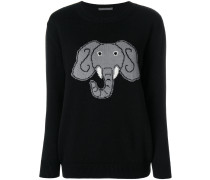 elephant print jumper