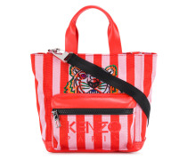 striped Tiger tote bag