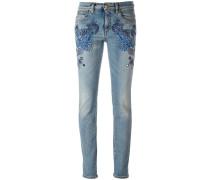 Bestickte Skinny-Jeans - women