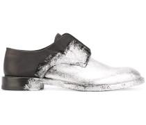 Derby-Schuhe mit Farbverlauf