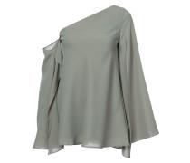 Asymmetrische Bluse mit schulterfreiem Design