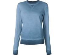 Sweatshirt mit Waschung
