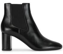 mid heel leather upp