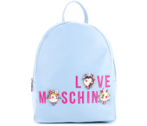 logo medium backpack - women - Polyurethan