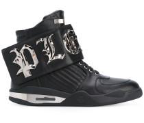 'Bye' High-Top-Sneakers