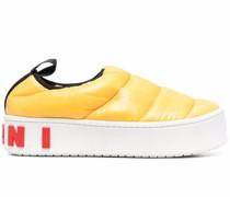 Gefütterte Flatform-Sneakers