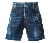 Bermudas im Distressed-Look