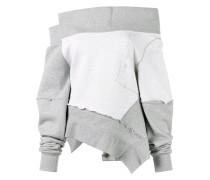 - Schulterfreies Sweatshirt - women
