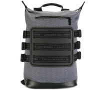 multi strapped backpack