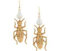 Ohrringe mit Käferanhänger