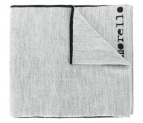 logo patch scarf