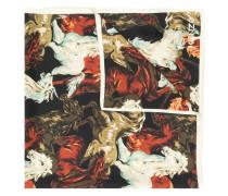 Seidenschal mit Pferde-Print
