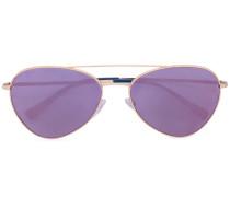 Pilotenbrille mit gefärbten Gläsern - unisex