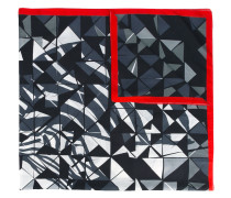 geo print scarf - men - Baumwolle/Seide