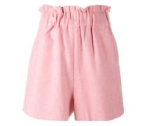 Shorts aus Wollfilzgemisch