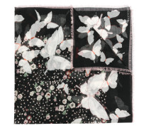 Garavani Schal mit Schmetterlingen