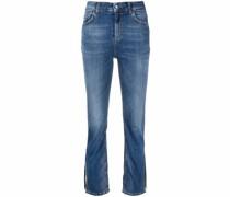 Jeans mit Schlitzen