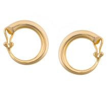 Monie large clip earrings