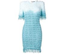 Bouclé-Kleid mit Farbverlauf